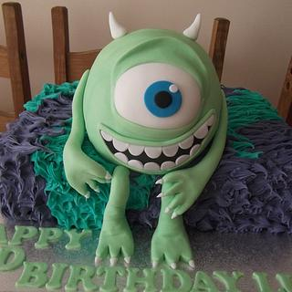 Mike Monsters Inc cake