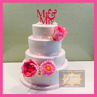 Weddingcake pink