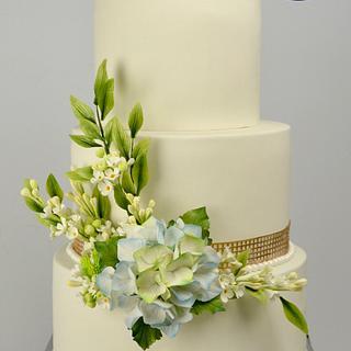 The bride's bouquet - Cake by José Pablo Vega