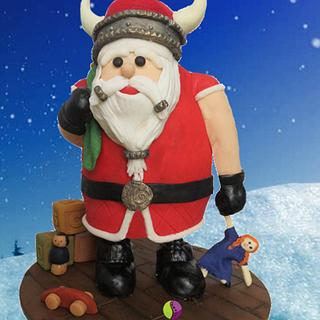 The First Santa: Santa The Viking