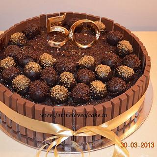 Chocolate Cake Pop Cake