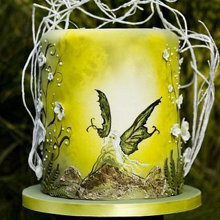 Green Fairy airbrush workshop