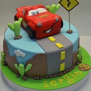 Cara cake - Cake by Con un toque de azúcar - Georgi