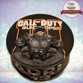 Call of Duty III cake