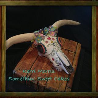 Sugar Skull - Cake by Kerri Morris
