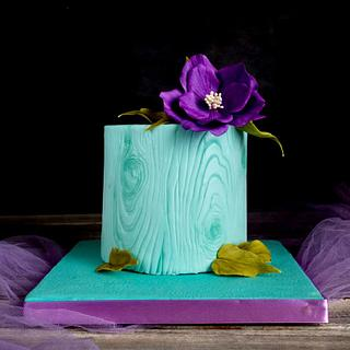 My first fondant flower..loved it