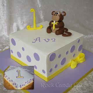 Monkey First Birthday