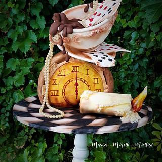 Torta Alicia en el país de las maravillas  - Cake by Marisa Morelli Monfort