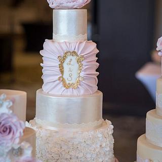 Ruffle Cake - Cake by CakeyBakey Boutique