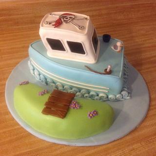 boat cake