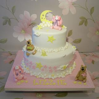 Christening Cake for Lizzie