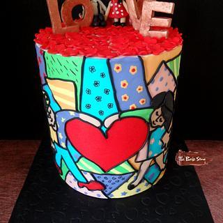 Caker Buddies Valentine Collaboration- Big Heart
