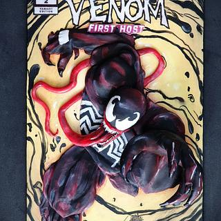 Venom cover - Cake con international collaboration