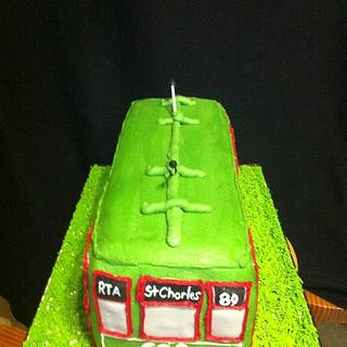 New Orleans Street Car Cake