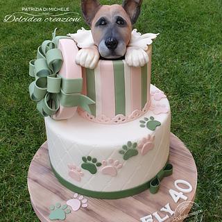 Sweet dog - Cake by Dolcidea creazioni