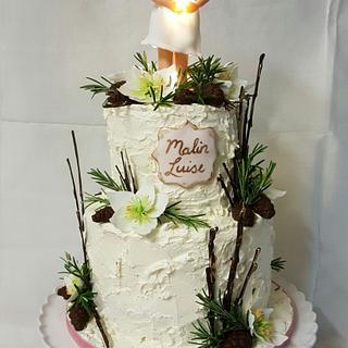 Baptism cake  - Cake by Steffs Backstube Stefanie Hauk