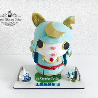 Shogunyan @Yokai Watch - Cake by Sweet Side of Cakes by Khamphet