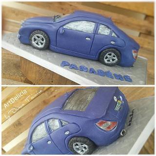 Bolo 3D Carro - 3D Car Cake