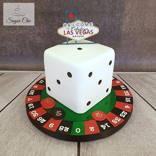 x Las Vegas Birthday Cake x