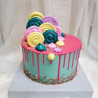 Colorfull wonderland - Cake by Tirki