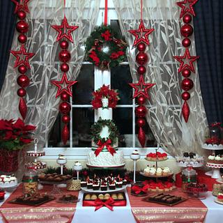 Our Christmas Sweet Table