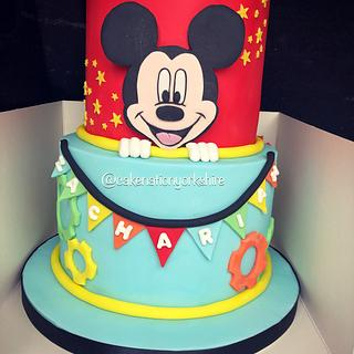 Mickey Mouse cake  - Cake by Cake Nation