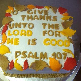 Psalm cake - Cake by Vero