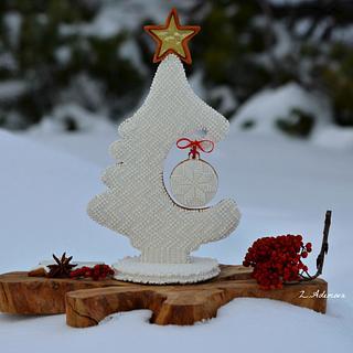 3D Christmas cookie tree