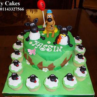 Shoun z sheep cake