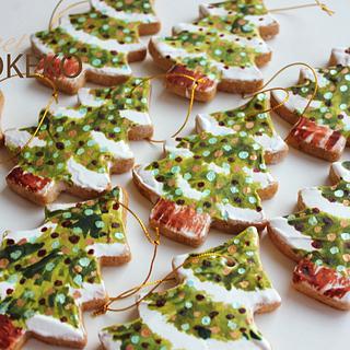 Christmas Tree Cookies