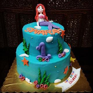 Mermaid theme cake - Cake by Avni3096