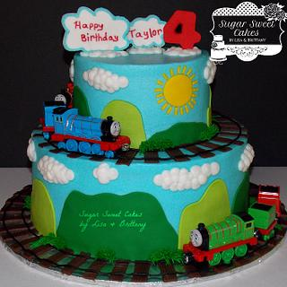 Thomas the Train - Cake by Sugar Sweet Cakes