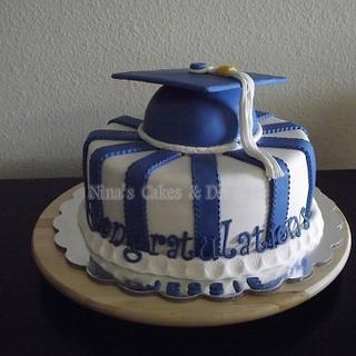 College Graduation Cake - Cake by Annette Colon