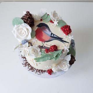 Redrobin winter cake - Cake by Anastasia Krylova