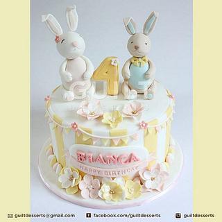 Bunnies Cake