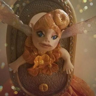 Woodland Fairie Collaboration  - Cake by Cakes by Tracee