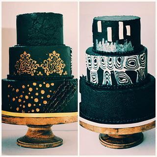 Latest wedding cakes