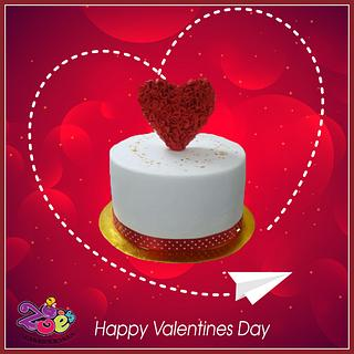 Valentine's Day - Cake by Ankita Singhal