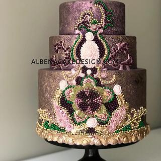 Indian Wedding Cake 6 - Cake by Albena