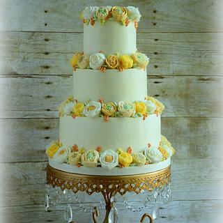 Golden Wedding Garlands