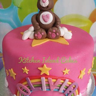 Carebear cake - Cake by Kitchen Island Cakes