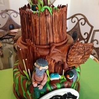 DUCK DYNASTY - Cake by Frisco Custom Cakes a Calories Worth Craving