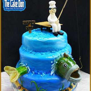 """The """"CATCH OF THE DAY"""" Cake"""
