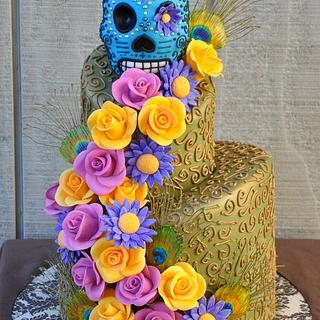 Day of the Dead Peacock