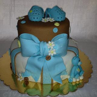 BabyShower Brown and blue