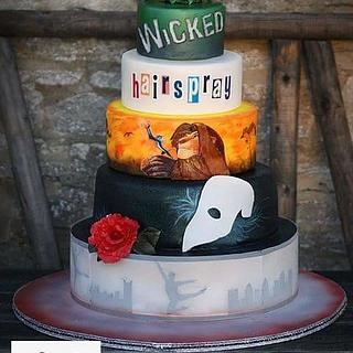 Musical inspired cake