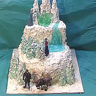 Disney's Frozen  or Winter Woodland Cake