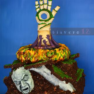 Acts of Green UNSA collab - Cake by Verónica García