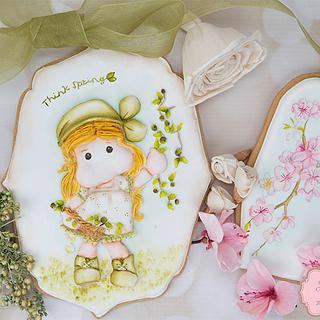 Springtime Cookies 🌸🌱💞