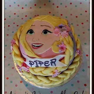 Rapunzel Cake - Cake by Amy's Icing on the Cake